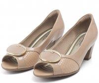 Imagem - Sapato Peep Toe Feminino Piccadilly  - 058176