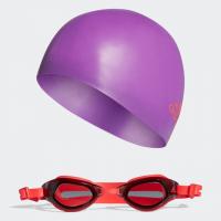 Imagem - Conjunto de Natação Óculos e Touca Adidas Kids Swim Dq1712  - 058896