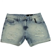 Imagem - Shorts Jeans Feminino Ellus Second Floor Destroyer 19sf451  - 052760