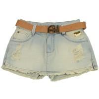 Imagem - Shorts Saia Jeans Ana Hickmann Low Ah115  - 044230
