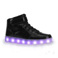 fbee8039a Imagem - Tênis De LED Infantil Bibi Clique-se Colors Verniz 979009 - 053306