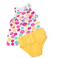 Imagem - Vestido + Calcinha Infantil Bebê Hering Kids 5a491b00  - 053597