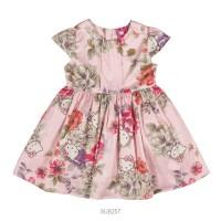 Imagem - Vestido Infantil Feminino Hello Kitty Floral 0501.87189  - 051540