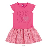 Imagem - Vestido Infantil Menina Hello Kitty 0501.87285  - 051541