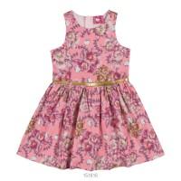 Imagem - Vestido Infantil Feminino Hello Kitty Floral 0501.87336  - 051548