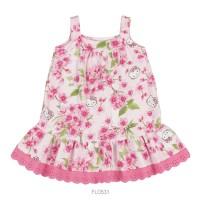 Imagem - Vestido Infantil Bebê Hello Kitty Floral 0550.87265  - 051121