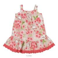 Imagem - Vestido Infantil Bebê Hello Kitty Floral 0550.87265  - 051122