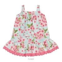 Imagem - Vestido Infantil Bebê Hello Kitty Floral 0550.87265  - 051123
