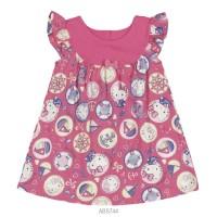 Imagem - Vestido Infantil Bebê Hello Kitty Estampado 0550.87261 - 051555