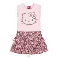 Imagem - Vestido Infantil Feminino Hello Kitty Cotton 0501.87312  - 051572