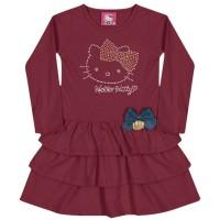 Imagem - Vestido Infantil Hello Kitty 0501.86733  - 048002
