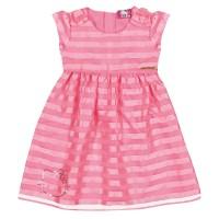 Imagem - Vestido Infantil Hello Kitty Tecido Plano Listrado 0560.87020  - 051130
