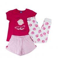 Imagem - Conjunto Pijama Infantil Hering Kids Menina 56p5kbn10 - 044324