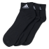 Meia Adidas Ankle Mid Thin Kit C/ 3 Pares Aa2321  2