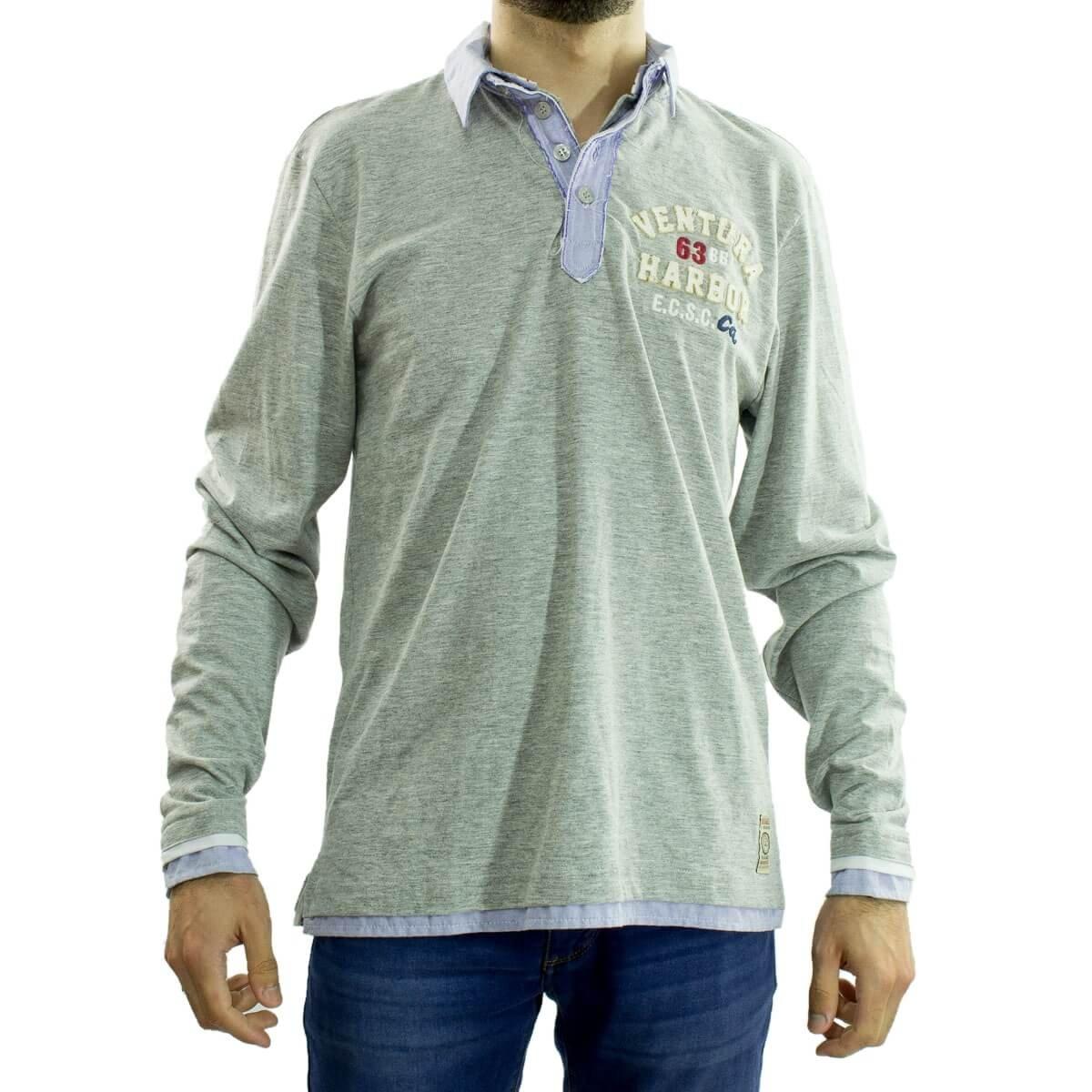Bizz Store - Camisa Polo Masculina Beagle Manga Longa 0a5dc12559c