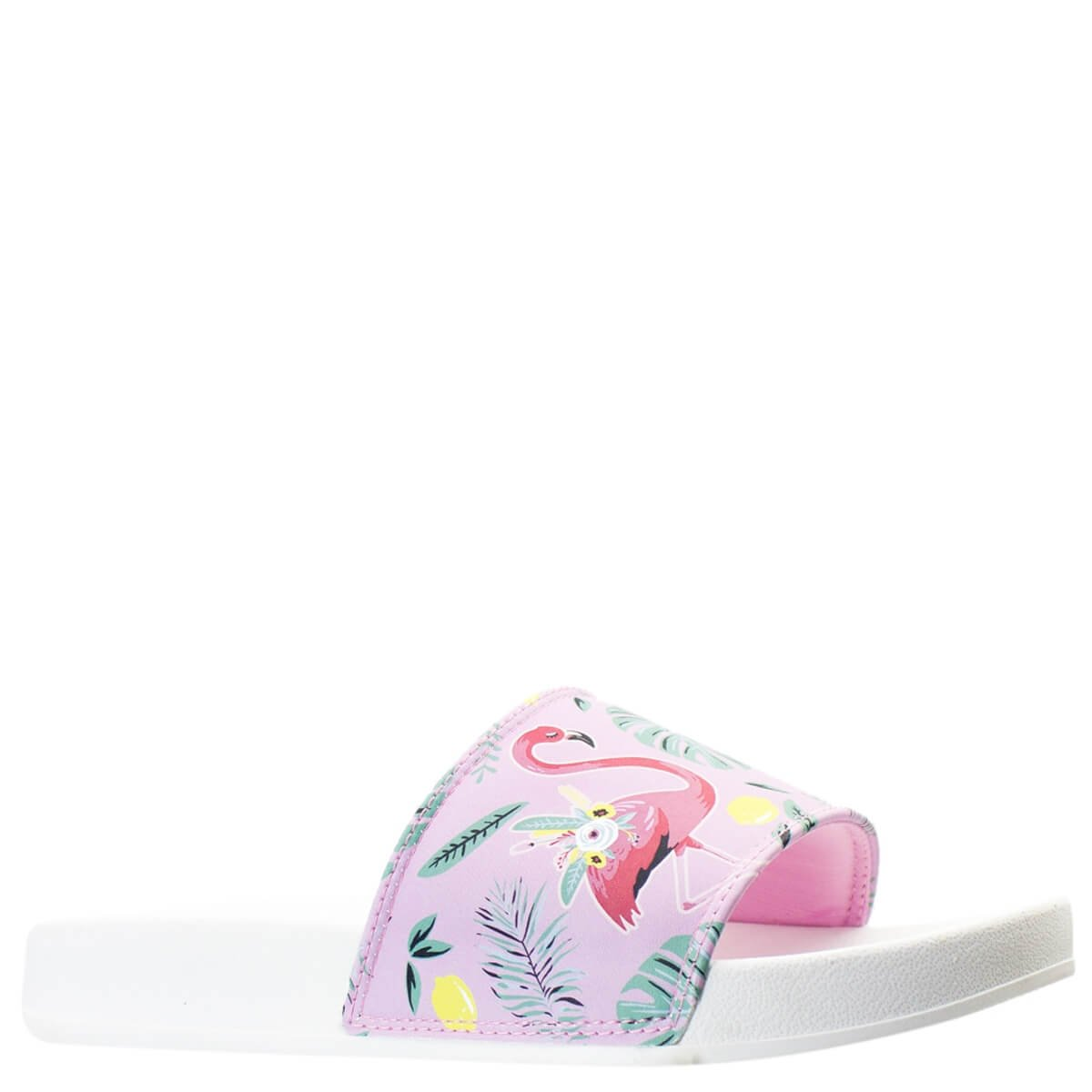 344e48cb7b Bizz Store - Chinelo Slide Feminino Capricho Flamingo