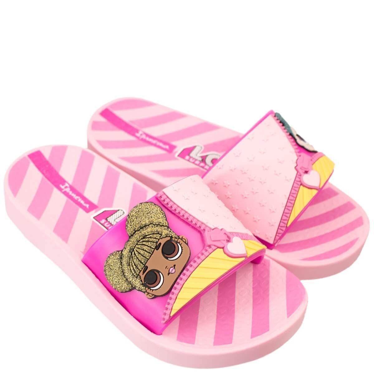 32749497dd Bizz Store - Chinelo Slide Infantil Ipanema Lol Surprise
