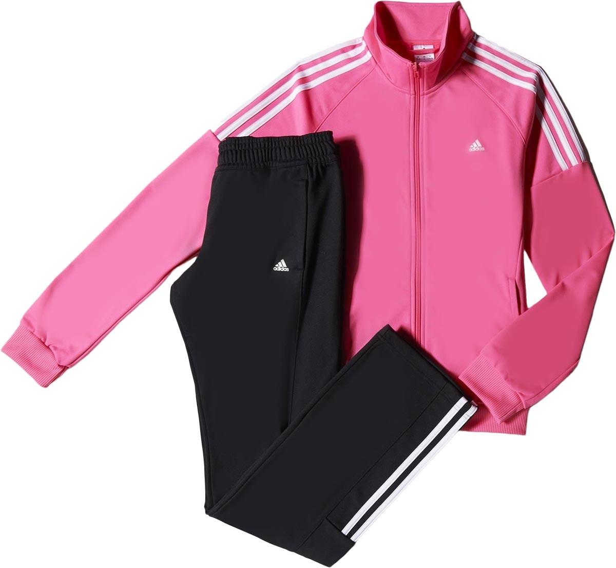 e531cce1534 Bizz Store - Agasalho Feminino Adidas Frieda Knit Rosa Preto