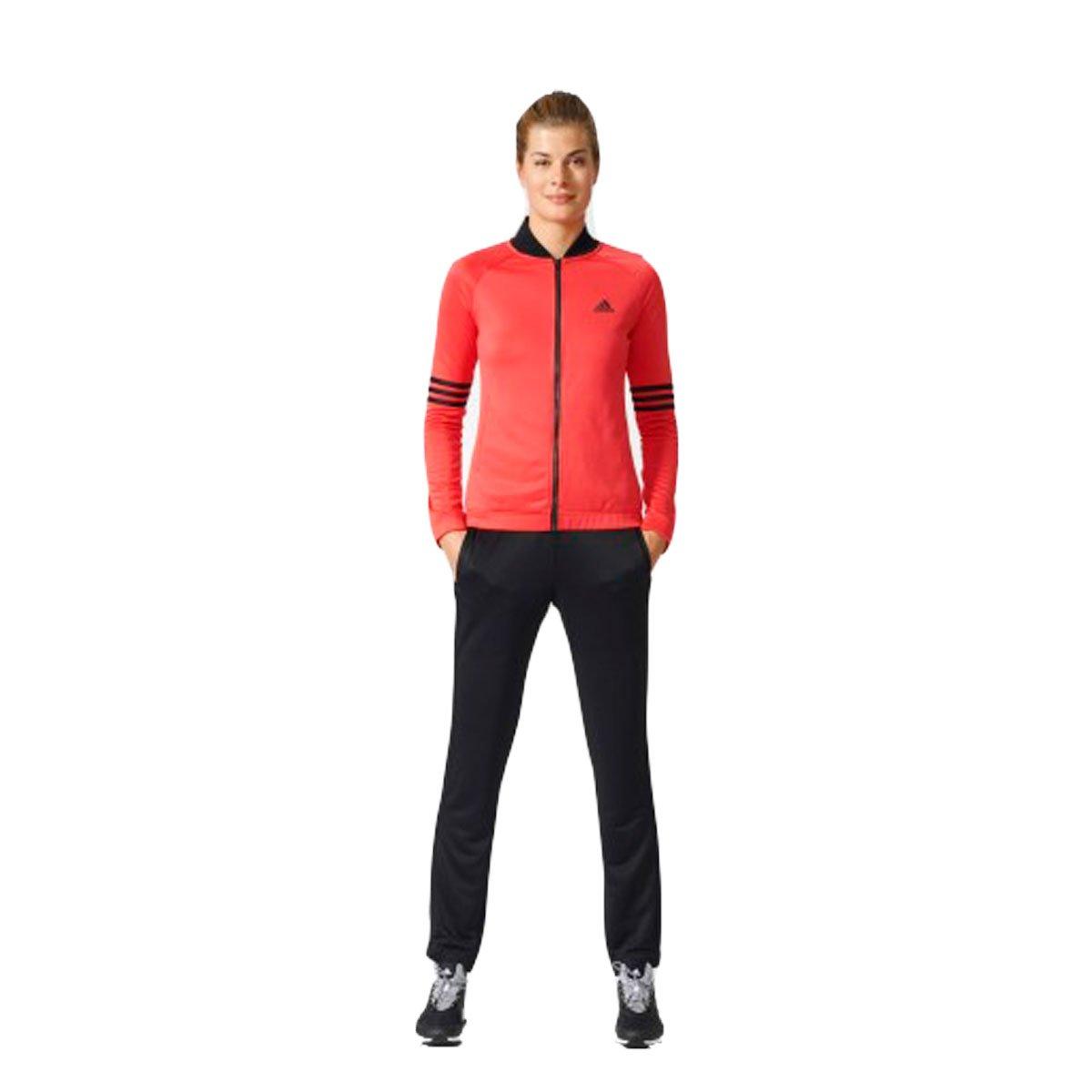 5a6e60091b4 Bizz Store - Agasalho Feminino Adidas Cosy Rosa Preto