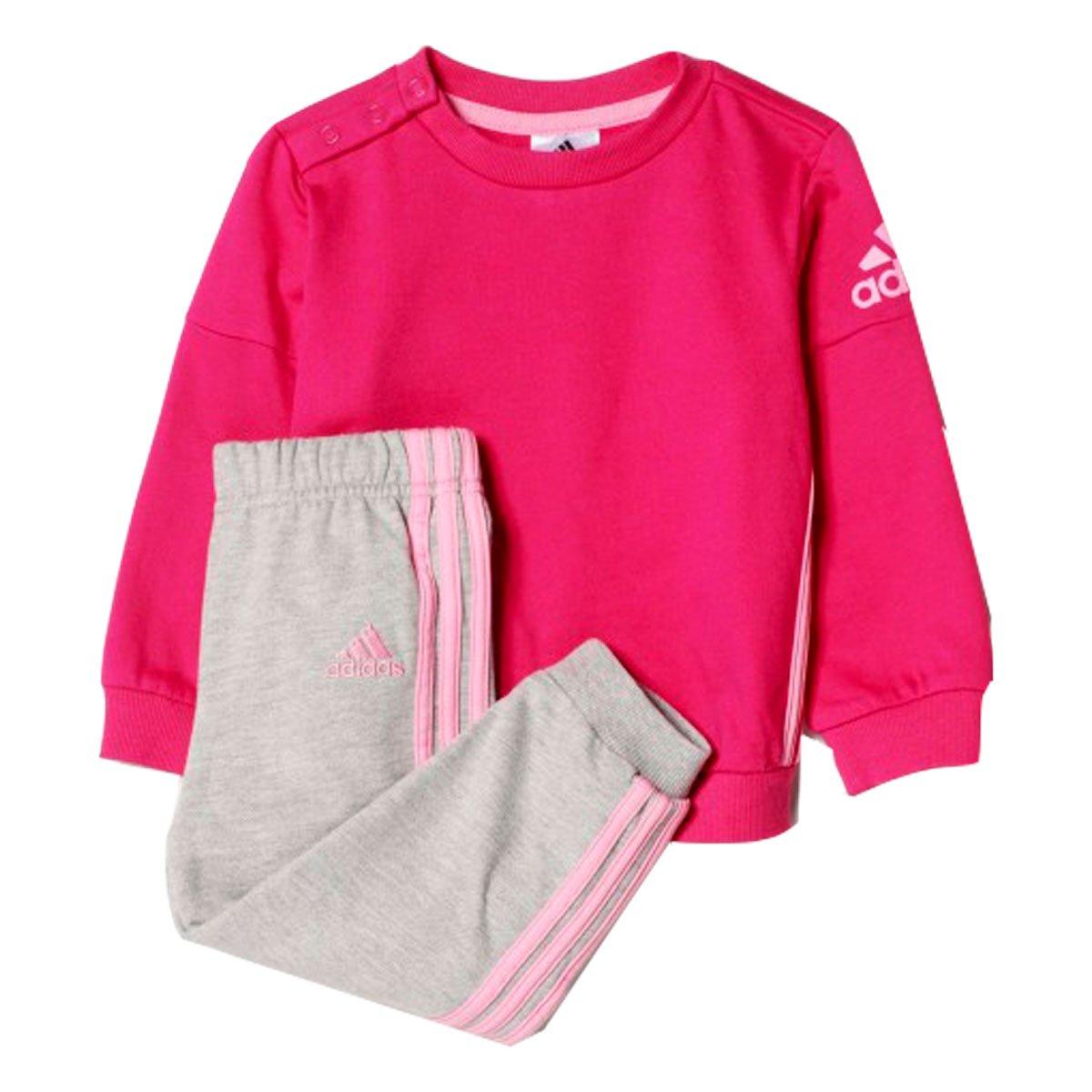 8a58ef7488a Bizz Store - Agasalho Infantil Feminino Adidas I SP Crew Jog