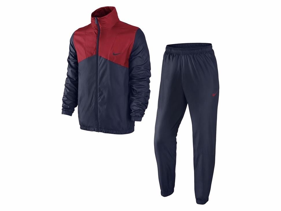 220cb1404 Bizz Store - Agasalho Masculino Nike Marinho/Vermelho 679699-451
