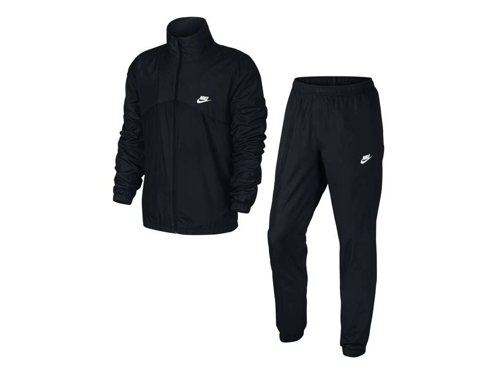 Bizz Store - Agasalho Masculino Nike NSW TRK Suit Woven Halfiti 5884bdec1f066