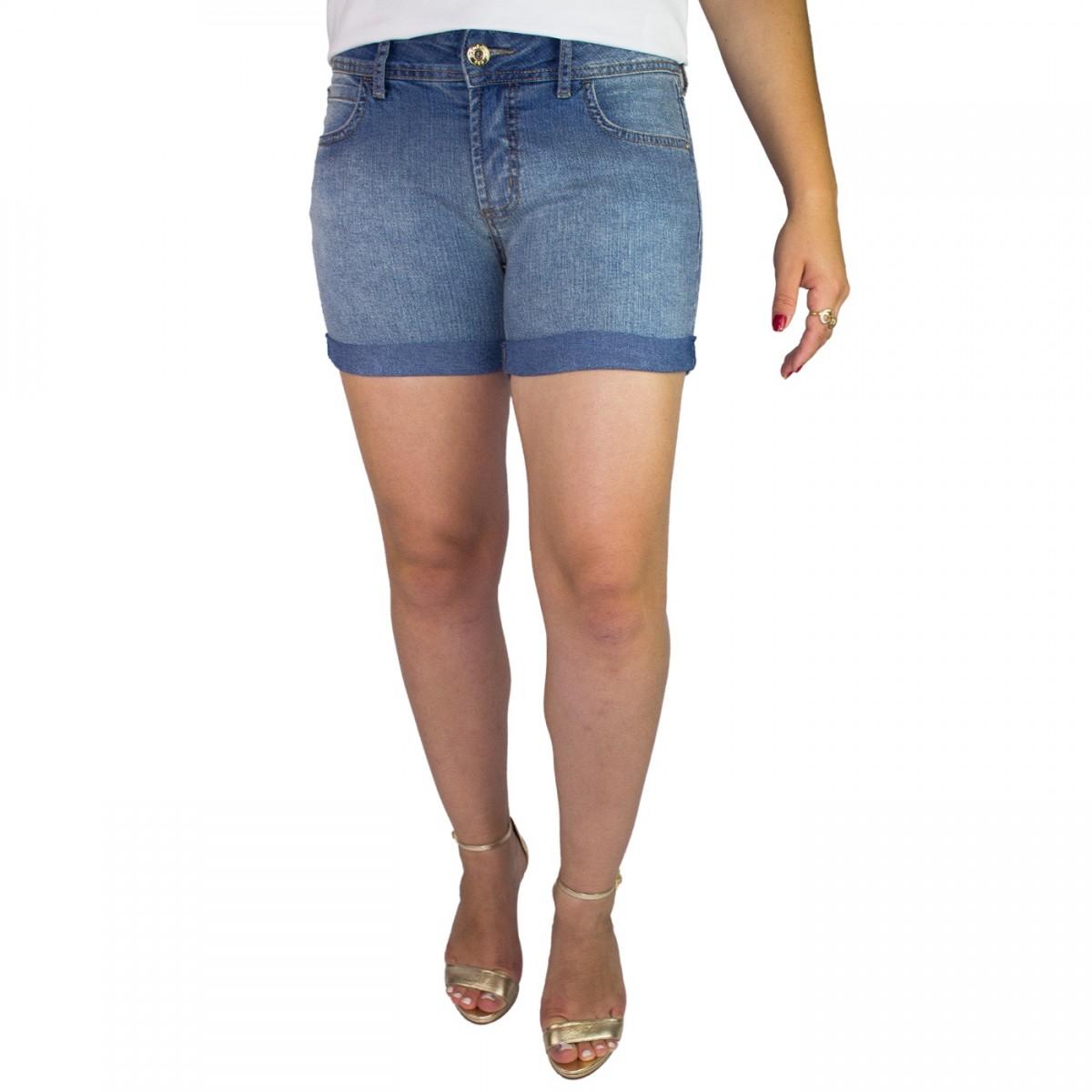 16fbee866 Bizz Store - Bermuda Jeans Juvenil Feminina Colcci Fun Indigo