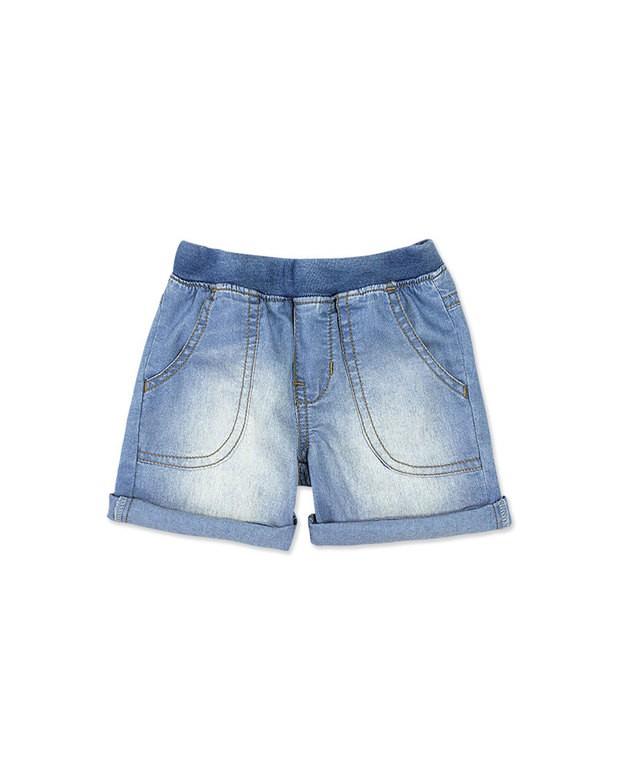 b125eb783 Bizz Store - Bermuda Jeans Infantil Bebê Menino Hering Kids