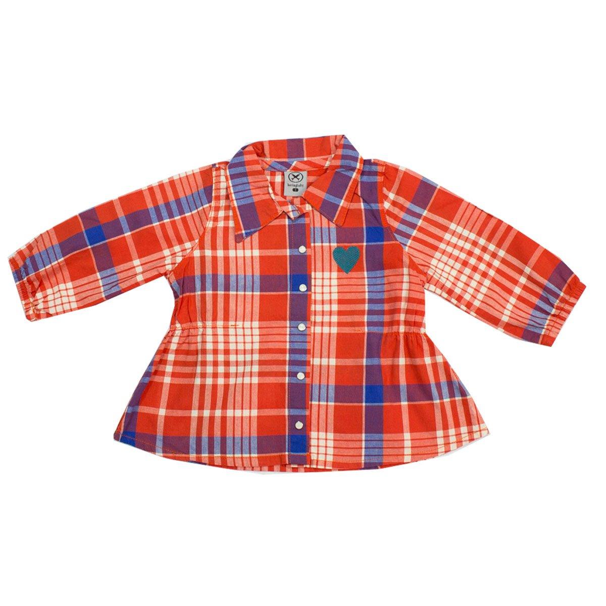 7be48d96b7 Bizz Store - Camisa Xadrez Infantil Bebê Menina Hering Kids