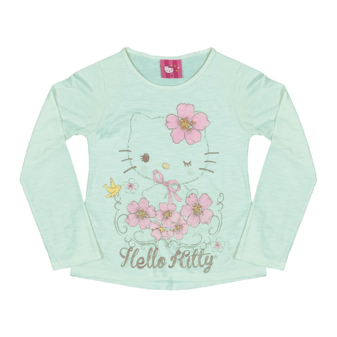 9f3e6c8f8c Bizz Store - Blusa Infantil Feminina Hello Kitty Manga Longa