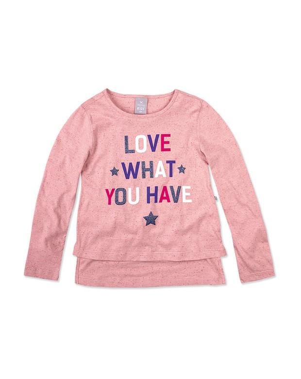 Bizz Store - Blusa Infantil Menina Hering Kids Mullet Manga Longa 27fa1b284152c