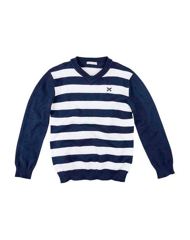 94e56bae3c Bizz Store - Blusão Infantil Menino Hering Kids Listrado