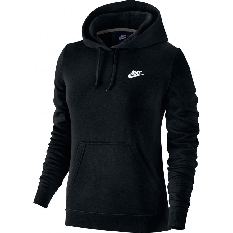 37ec50e82e Bizz Store - Moletom Feminino Nike NSW Hoodie Fleece Com Capuz