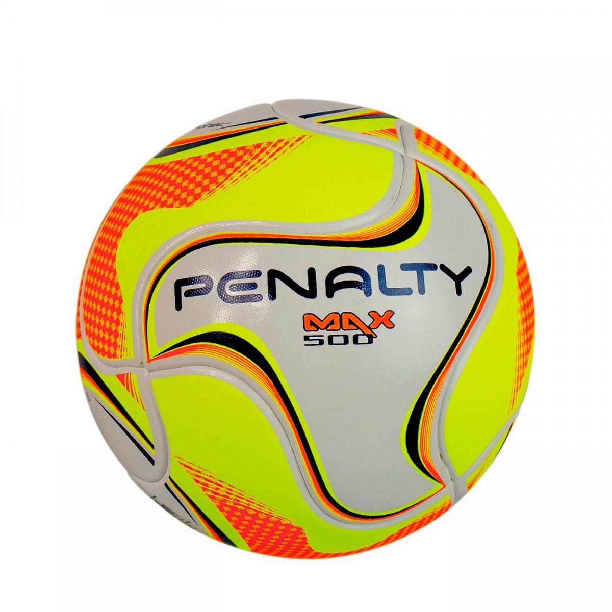 1f5b0f424a Bizz Store - Bola Futsal Max 500 Term Penalty Oficial Branca
