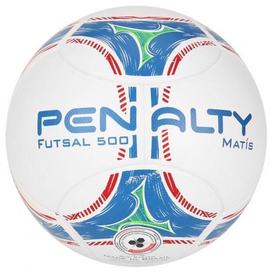 b31ca69fd4 Bizz Store - Bola Futsal Penalty Matís 500 Branca Laranja Azul