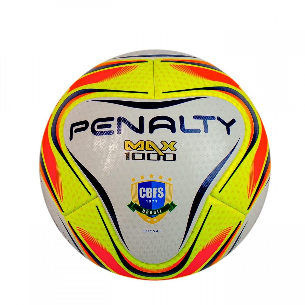 Bizz Store - Bola Futsal Penalty Max 1000 Profissional CBF 6783d0678bb93