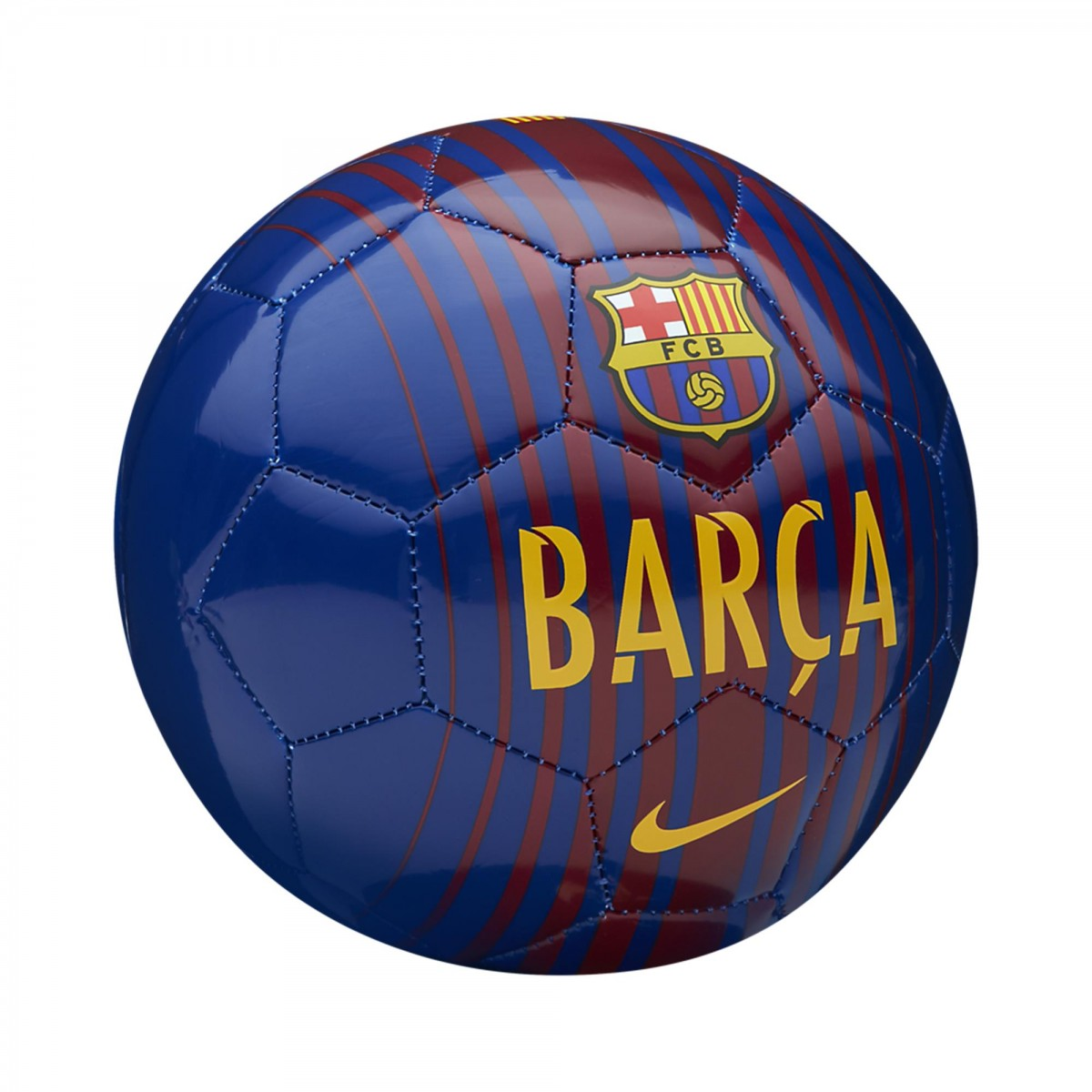 Bizz Store - Mini Bola Futebol De Campo Nike Barcelona Skills 5cb560789c264