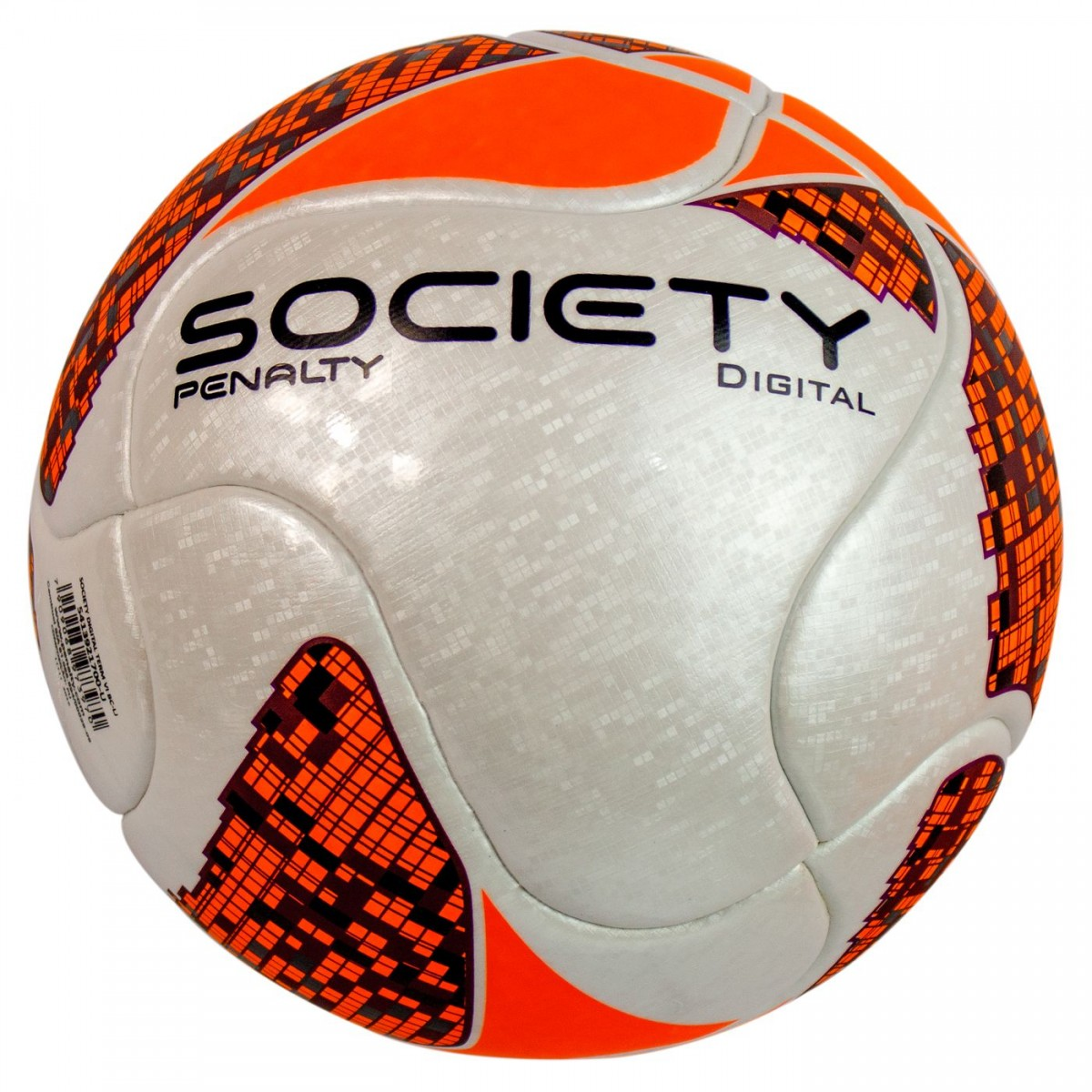 Bizz Store - Bola Society Penalty Digital Termotec Branca 7c76e9c7d6a3c