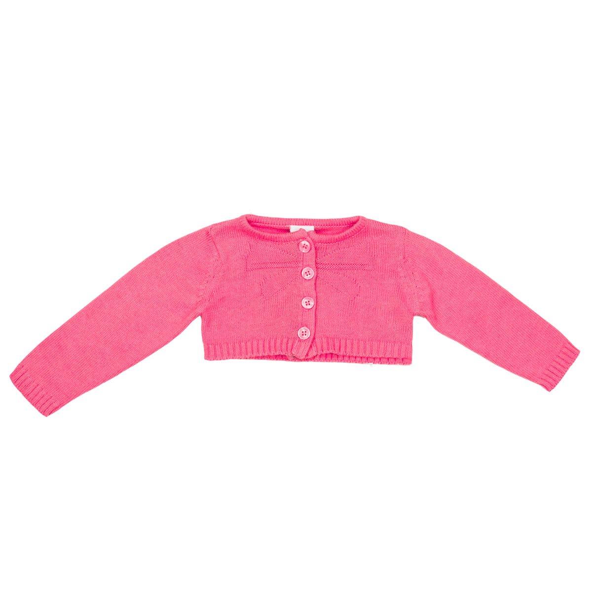 a720739add Bizz Store - Bolero Infantil Bebê Menina Tip Top Tricot