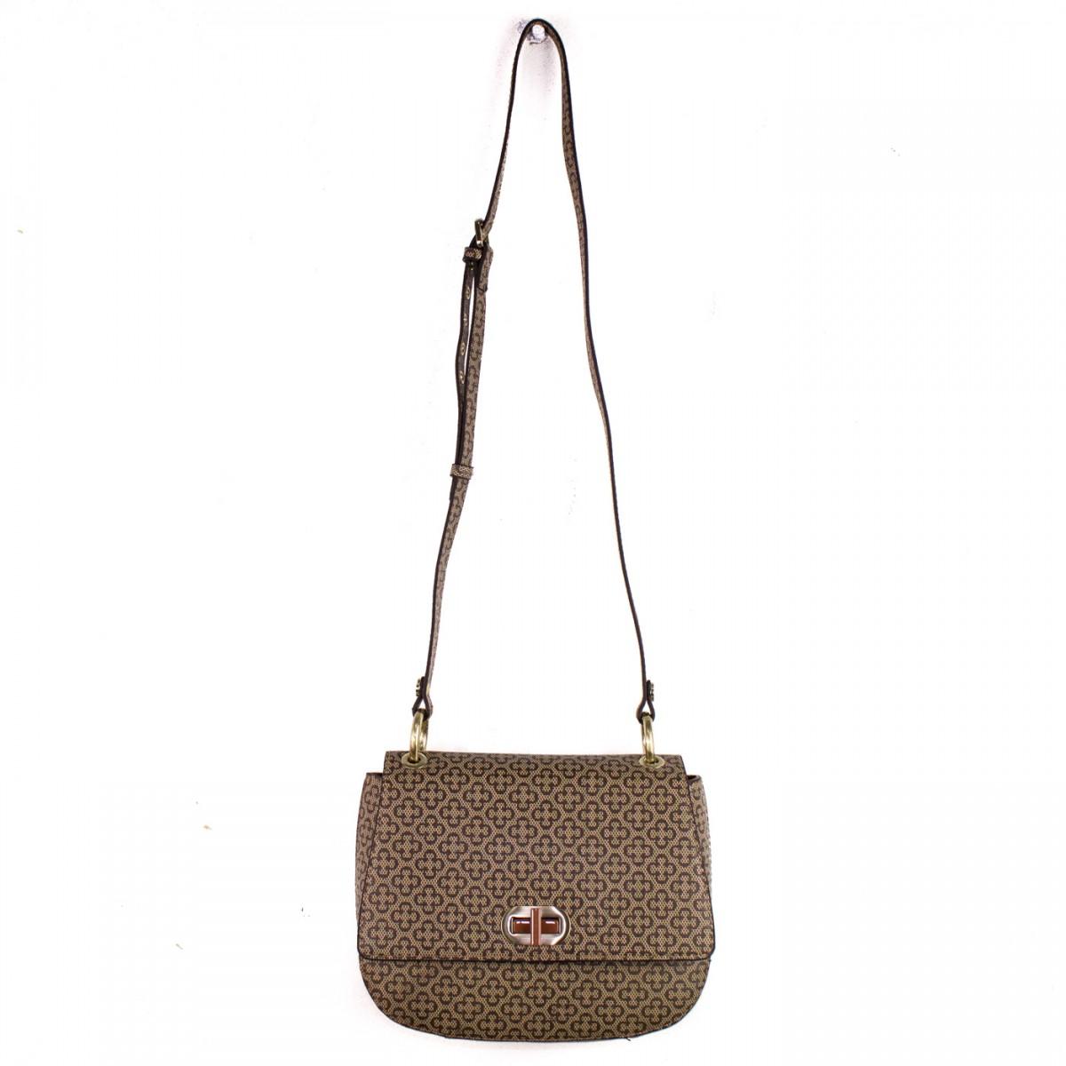 e937c5b0a Bizz Store - Bolsa Feminina Capodarte Monograma Transversal Couro