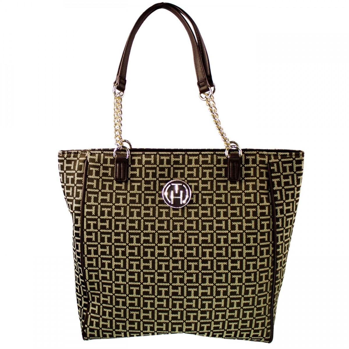 d17911abd Bizz Store - Bolsa Feminina Tommy Hilfiger Jacquard Shopper