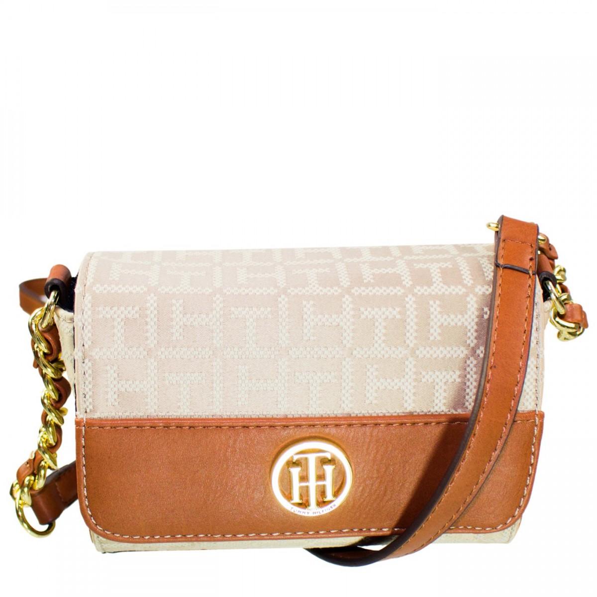 40174a2a9 Bizz Store - Bolsa Tommy Hilfiger Lucie Jacquard Flap Crossove