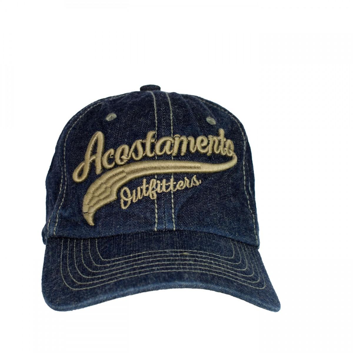 Boné Bordado Acostamento 68522009 - Jeans  0d67f60a6f563