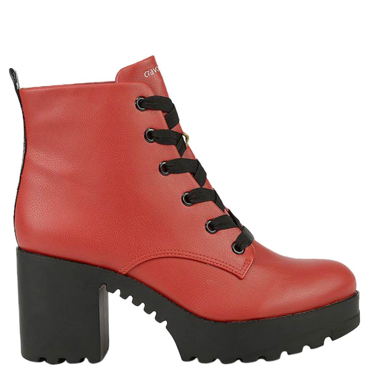 8a2d2f740 Bizz Store - Coturno Feminino Cravo e Canela New Pele Scarlet