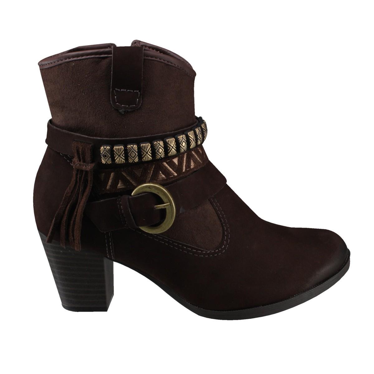 fc5b519f8d Bizz Store - Bota Feminina Dakota Indianápolis Cano Curto Marrom