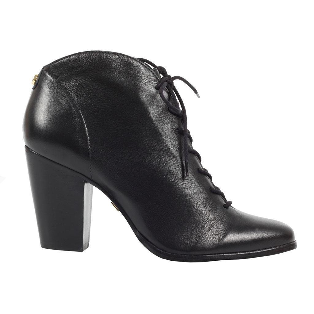 0c893c9fa33 Bizz Store - Bota Ankle Boot Feminina Jorge Bischoff Preta