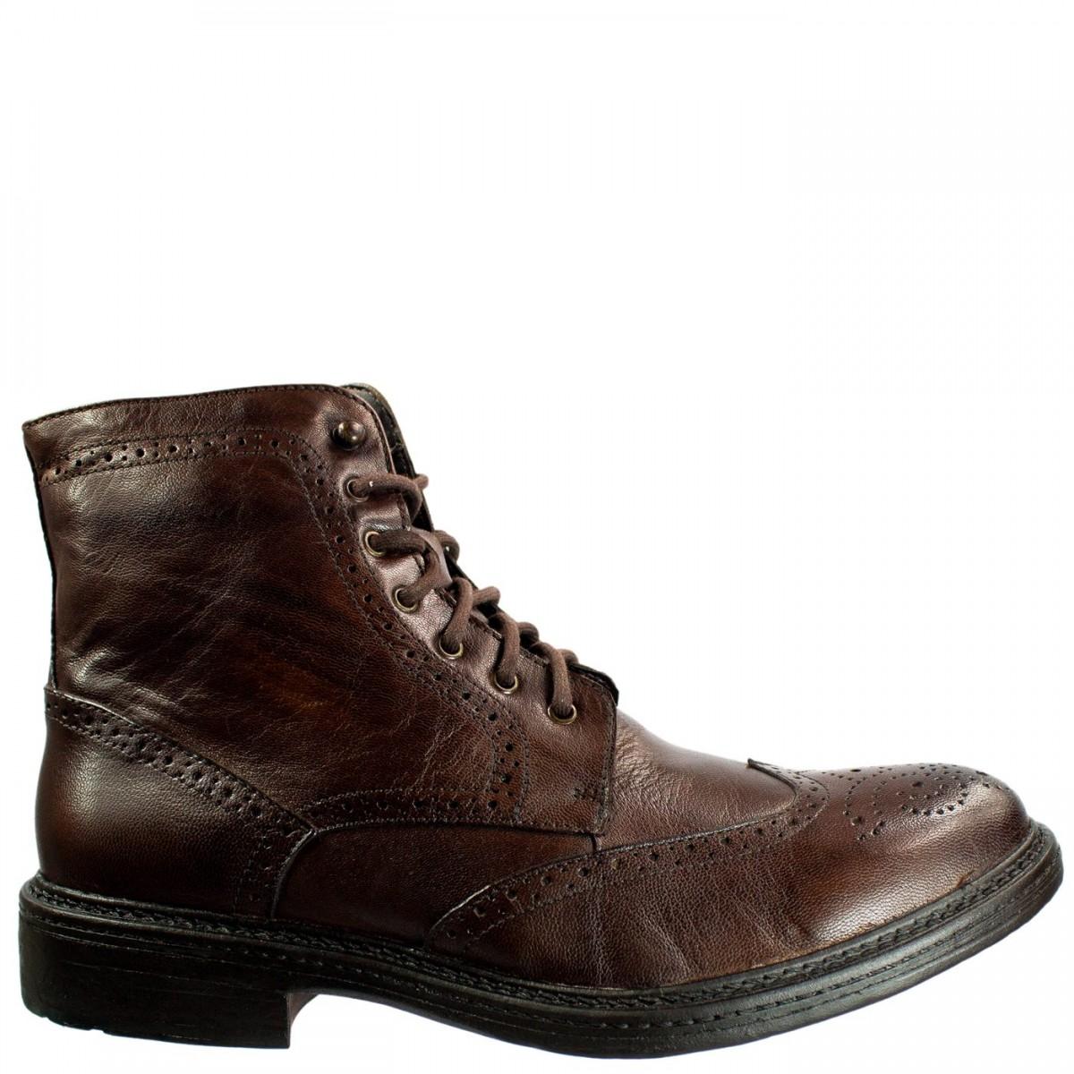 Bizz Store - Bota Masculina Democrata Holder Country Couro b13030f79de