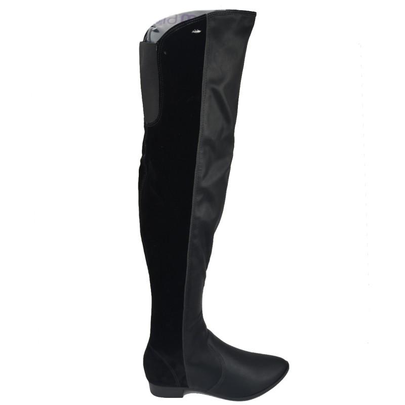 65aee1099 Bizz Store - Bota Feminina Over Knee Dakota Fiona Couro Nobuck