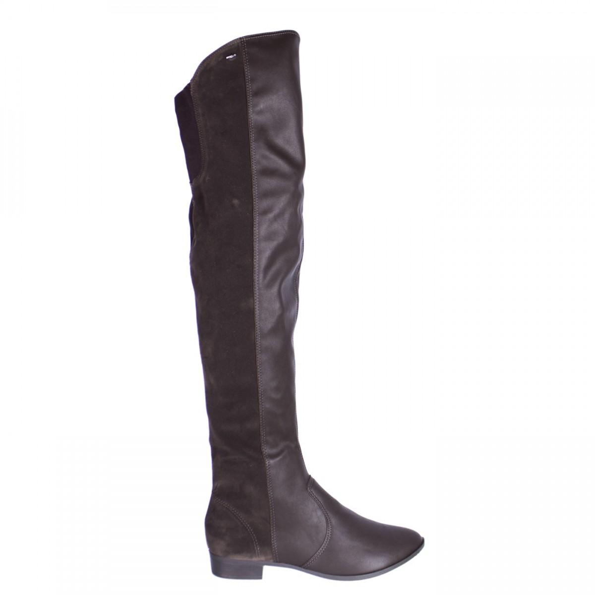 b9f72f85c Bizz Store - Bota Feminina Over Knee Dakota Fiona Couro Nobuck