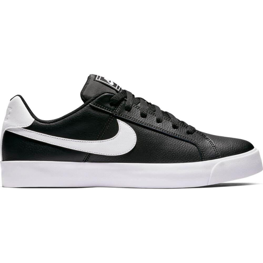8b84f0bff Tênis Masculino Nike Court Royale Bq4222-002 - Preto Branco